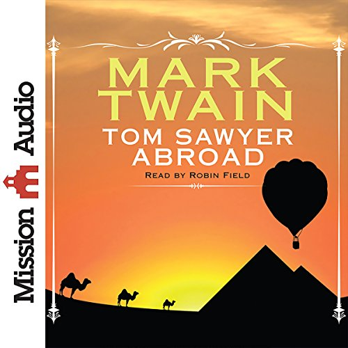 Couverture de Tom Sawyer Abroad
