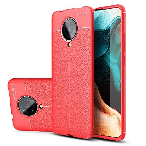MOONCASE Funda para Redmi K30 Pro, Estuche Ultra Delgado Antiarañazos a Prueba de Golpes Estuche Protector de TPU Suave para el Teléfono para Xiaomi Redmi K30 Pro 6.67' -Rojo