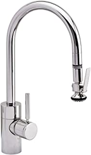 Waterstone 5800-DAC Contemporary PLP Pull Down Kitchen Faucet Distressed Antique Copper