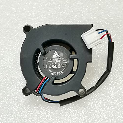 Delta BFB0512VHD 12V 0.28A 5020 5CM 3-wire Turbine Projector Blower Cooling Fan