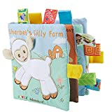 Bébé En Tissu Livres Doux Tissu Non Toxique Early Education Jouets Activité Crinkle Livre En Tissu Pour Bébés Et Tout-petits De Mouton Pour Enfants