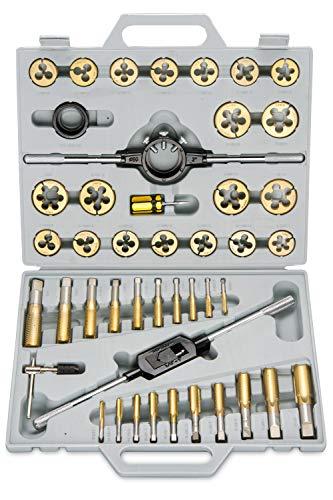 Neiko 00916A Titanium Tap & Die Set