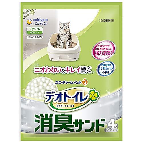 デオトイレ 1週間消臭・抗菌デオトイレ 取り替え専用 消臭サンド 4L