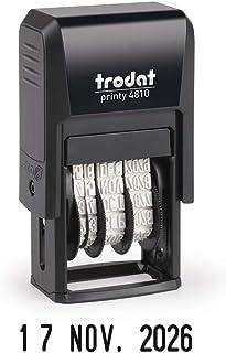 Ref 86621 Trodat Timbro numerico automatico sequenziale in plastica 6 Regolazioni cifre da 5,5 mm
