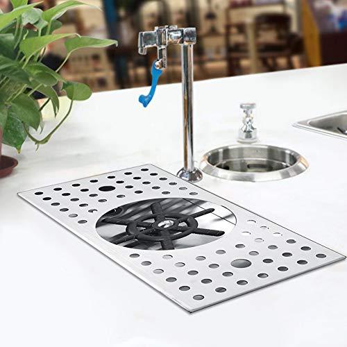 Asixxsix Enjuagadora de Vidrio, Lavadora de Vidrio automática Profesional, Barra práctica para Fregadero de Cocina para el hogar