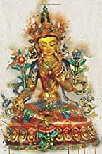 Watercolor Buddhism Tara: Blank Lined Notebook, Journal or Diary