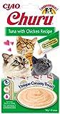 INABA Churu Sticks - Katzen Leckerlie zum Füttern aus der Hand - Köstliche, leckbare Katzensnacks...