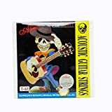 Alice SKISWUD Stainless Steel Acoustic Guitar 1st E String - Pack of 3 Pieces