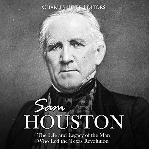 Sam Houston audiobook cover art