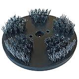 ROKAMAT Stahlbürste grob - Ø200mm - 2er Pack - Tellerbürste mit Stahldraht 0,50mm
