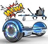 RCB Hoverkart Gyropode Hoverboard Kart pour Enfant et Adulte, Overboard Electrique Kart avec...