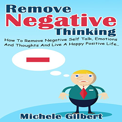 Remove Negative Thinking audiobook cover art