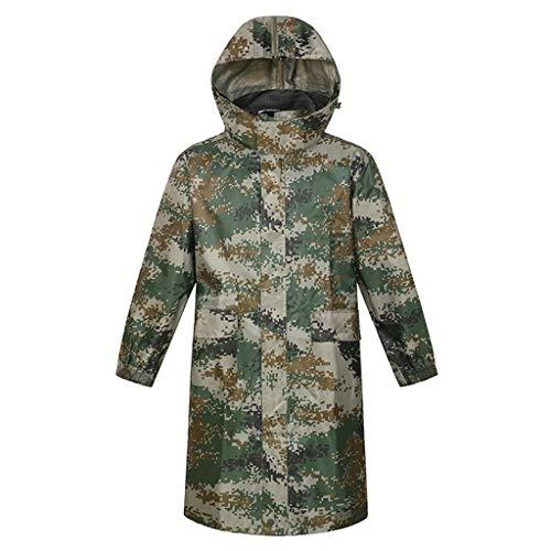 Hommes/Femmes Veste Raincoat, Long Imperméable Unique Imperméables Imperméables À l'eau, La Randonnée Adulte Portable Voyage Poncho (Size : M)
