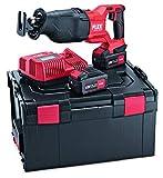 Flex 469084 Sable con batería RSP DW 18.0-EC/5.0 (Sierra pendular 18,0 V, 5 Ah, número de Carreras 0 – 3000 /min, elevación 32 mm)
