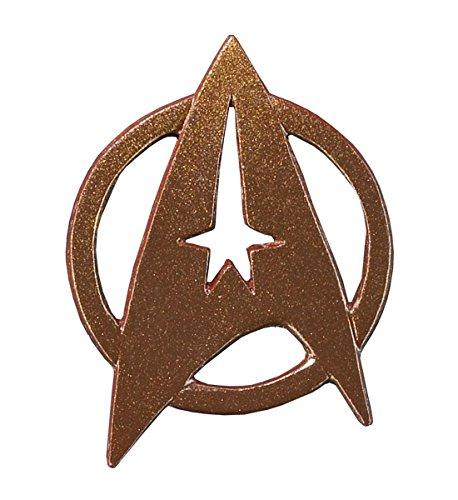 Star Trek Replik 1/1 Rangabzeichen-Pin Federation Enlisted