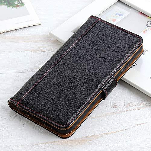 BELLA BEAR Hülle für Xiaomi Mi Mix 3 5G Brieftasche Fall Bracket-Funktion Hülle for Xiaomi Mi Mix 3 5G(Schwarz)