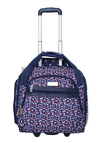 Jessica Simpson Wheeled Tote, Freedom Floral