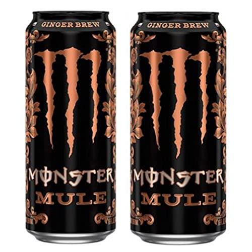 MONSTER ENERGY DRINK MULE GINGER BREW ( 2 x 500ml ) CHARLIE'S WAY