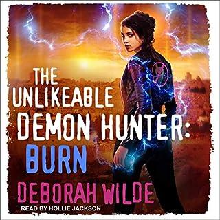 The Unlikeable Demon Hunter: Burn cover art