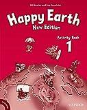 Happy Earth 1 Activity Book (Happy Second Edition) - Bill Bowler