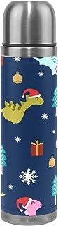 Dinosaur Water Bottle Stainless Steel, Metal Thermos...