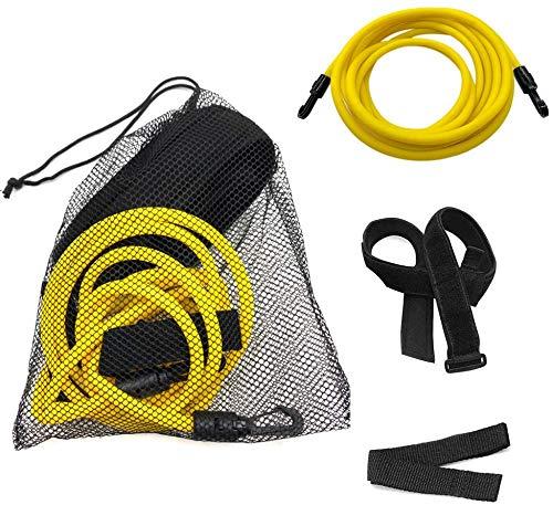 Zhipeng Swim Training Belts Swim Bungee Cords Resistance Bands Swim Tether Stationary Swimming Swim Harness Static Swimming Belt