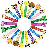 20 Coloratissimi animali segnalibro,bambini in legno idea,bomboniera battesimo pensierino regalino gadget,festa compleanno bambini
