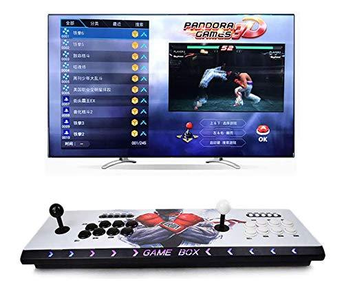 Theoutlettablet@ - Pandora Box 3D WiFi con 4018 Juegos Retro Consola Maquina Arcade Video Gamepad VGA/HDMI/USB Street