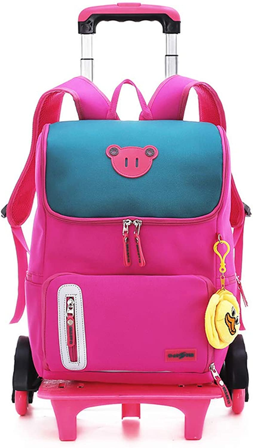 3e4dc631d12d LYZL Trolley bag Primary school and girl 24 grade sixwheeled ...