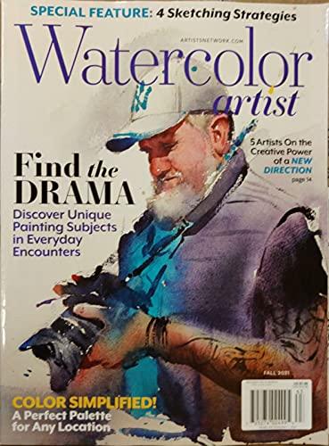 Watercolor Artist Magazine Fall 2021 Find The Drama