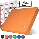 POWRX Balance Pad 40x34x5 cm inkl. Workout Ideal zum Training von Gleichgewicht, Stabilität und...