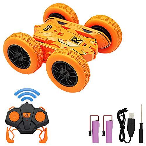 Coche Teledirigido, Barley Direct 4WD Coche de Control Remoto 2.4 GHz RC Coche Acrobacia Rotación Volteo De 360 ° 6 - 12 Años para Niños Regalos