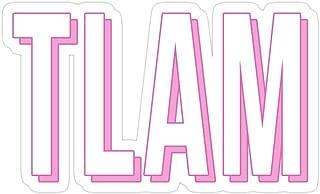 Sherai Fran mall TLAM Stickers (3 Pcs/Pack)