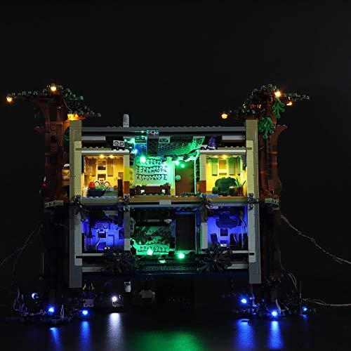 POXL Kit LED Iluminación para Lego Stranger Things Mundo del Revés - LED Luces Luz para Lego 75810 - Juego de Lego no Incluido