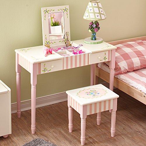 Fantasy Fields Kindertisch mit Spiegel, Rose, 87.63 x 38.1 x 65.1 cm