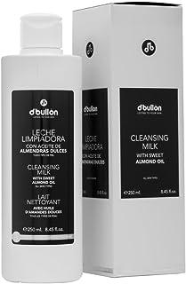 DBullón Leche facial limpiadora con aceite de almendras. Limpiador facial-250 ml