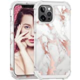ZHK Compatible with iPhone 12 Pro Max Case for Women, Marble 3 Layer Heavy Duty Shockproof Cute Girls Women Anti-Scratch Protective Case Cover for iPhone 12 Pro Max (6.7 inch, 2020) –Gray Gold