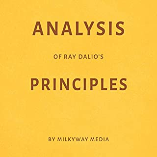 Analysis of Ray Dalio's Principles audiobook cover art