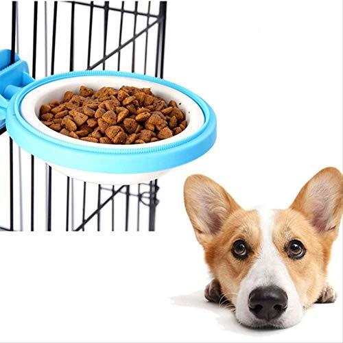 wawale hond huisdier kom huisdier voedsel water kom voor kratten kooien huisdier hond papegaai vogel Pp verwijderbare opknoping voedsel voerbak 1 st
