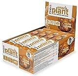 PhD Smart Plant, Barrita Vegana Alta en Proteína y Baja en Azúcar sin Aceite de Palma, 12 Barritas Sabor Caramelo Salado