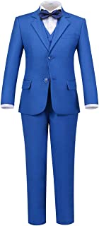 Addneo Boys Formal Suits Set Complete Outfit with Dress Shirt and Bowtie
