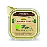 almo nature Daily Organic Dog Food con Carne e Verdure, 100g, Confezione da 32