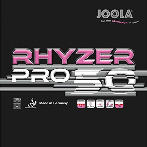 JOOLA Belag Rhyzer Pro 50, schwarz, 2,3 mm