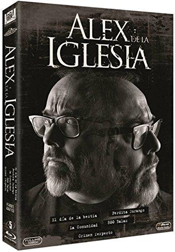 Álex de la Iglesia Collection - 5-Disc Set ( El día de la bestia / La comunidad / 800 balas / Crimen ferpecto ) [ Spanische Import ] (Blu-Ray)