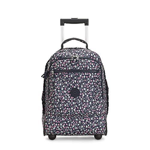 Kipling Sanaa Large Rolling Backpack Floral Rush