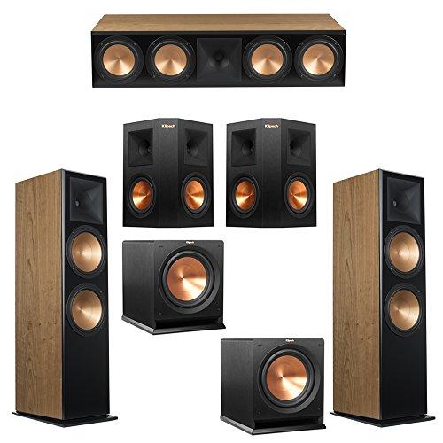 Buy Bargain Klipsch 5.2 Cherry System with 2 RF-7 III Floorstanding Speakers, 1 RC-64 III Center Spe...