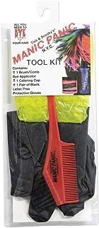 Manic Panic Hair Dye Tool Kit Brush Gloves And Cap