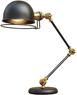 RAON Nórdico Industrial Estilo Retro lámpara de Escritorio Simple Personalidad Ajustable Escritorio Linterna lámpara de Pared Estilo Americano Retro Creativo Escritorio luz