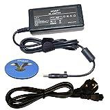 HQRP Netzadapter / Netzteil fuer HP Spare 463957-001 / 613149-003 / 693715-001 / ADP-65HB FC mit HQRP Untersetzer