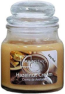 Mainstays Hazelnut Jar Candle, 3 oz.
